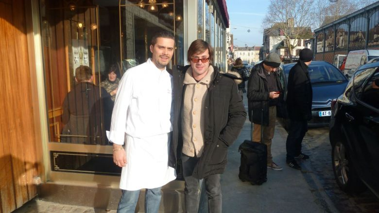 avec Thomas Dutronc / © document remis