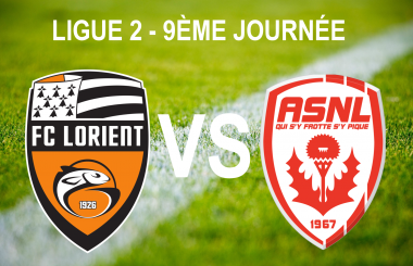 FC Lorient vs AS Nancy Lorraine / © Infographie : Morgane Hecky