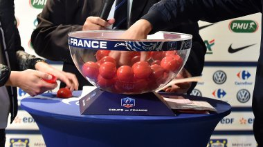 Tirage au sort du 7e tour de la Coupe de France de football. / © Florent Moreau. MAXPPP