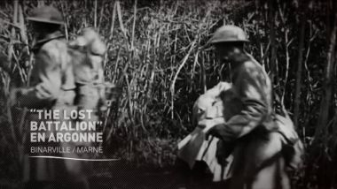 "© Pathé Gaumont/""History and rhymes of the lost battalion"", Buck Private Mac Collum"