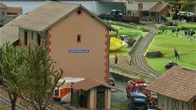 Romilly-sur-Seine (Aube) : « Model Trains » où le monde du train miniature