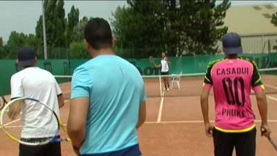 Metz : réinsertion de détenus par le tennis