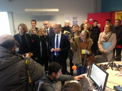 Jean-Michel Blanquer, ministre de l'Education nationale, en visite à Pompey et Nancy
