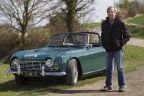 Daniel et sa Triumph TR4: all is perfect
