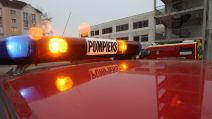 Gyrophares camion pompiers
