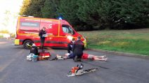 Simulation d'intervention - SDIS Ardennes