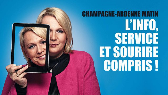 Campagne promo externe Champagne-Ardenne Matin