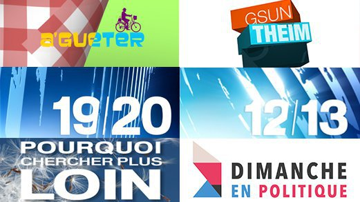 Ce week-end sur France 3 Alsace