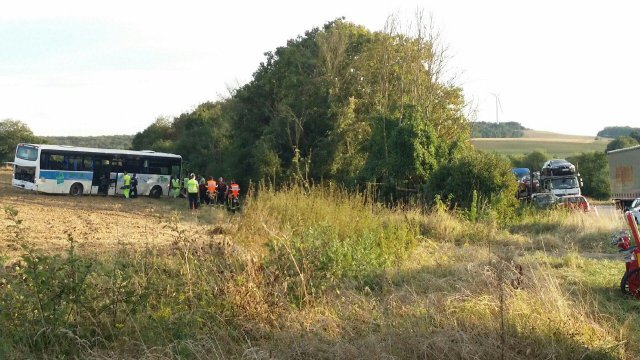 Moselle - Accident de bus scolaire : plus de peur que de mal