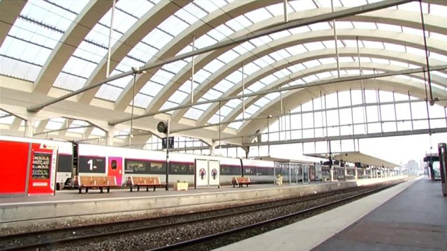 Gare SNCF (Reims - centre) / © France 3 Champagne-Ardenne