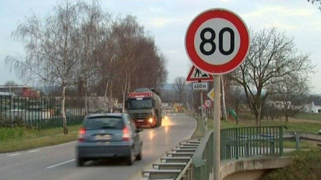 Limitation à 80 km/h : le point en Lorraine