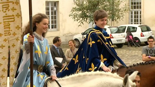 Jeanne et Charles (Fêtes Johanniques 2014) - Reims / © France 3 Champagne-Ardenne
