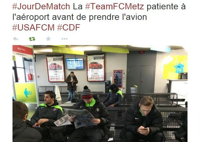 © Capture d'écran Twitter @FCMetz_officiel