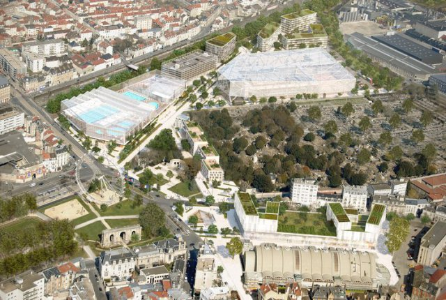 Projet aqualudique reims un accord trouv entre la for Piscine reims
