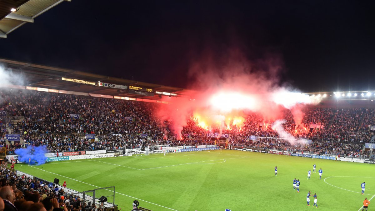 Le Racing club de Strasbourg en Ligue 1 !