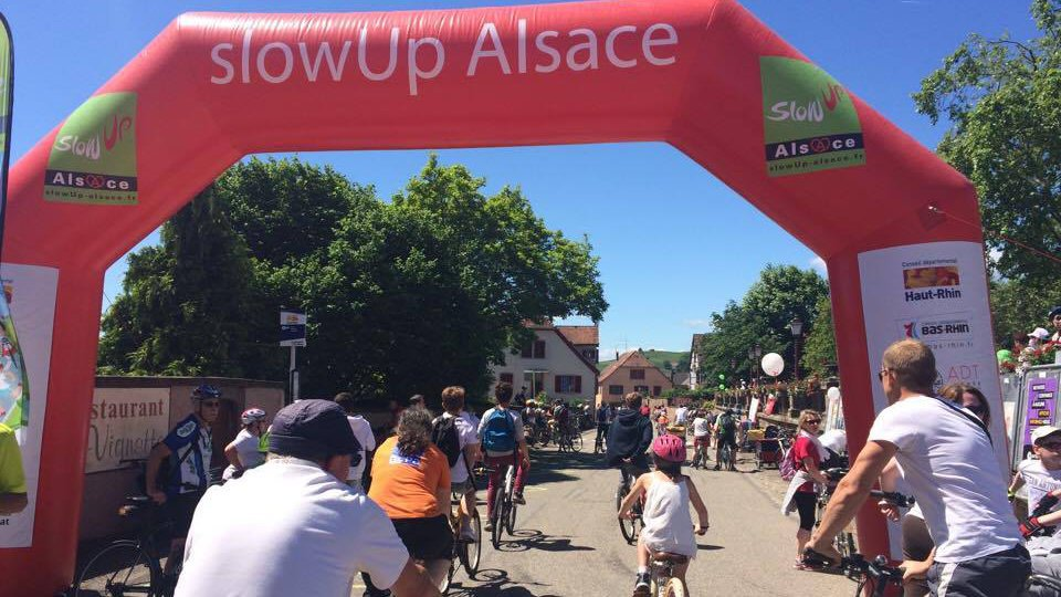 SlowUp en Alsace : record d'affluence ?