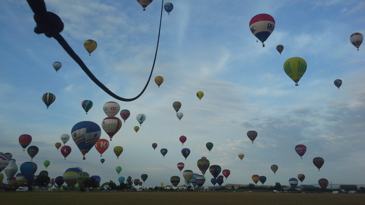 EN DIRECT VIDEO du Mondial Air Ballons MAB2017