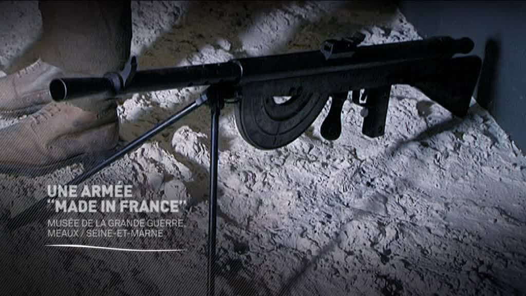"Histoires 14-18 : une armée ""made in France"""