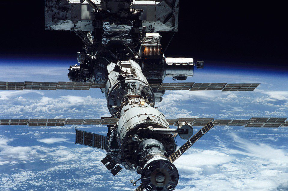 17h51 ce lundi, la Station spatiale internationale visible à l'oeil nu