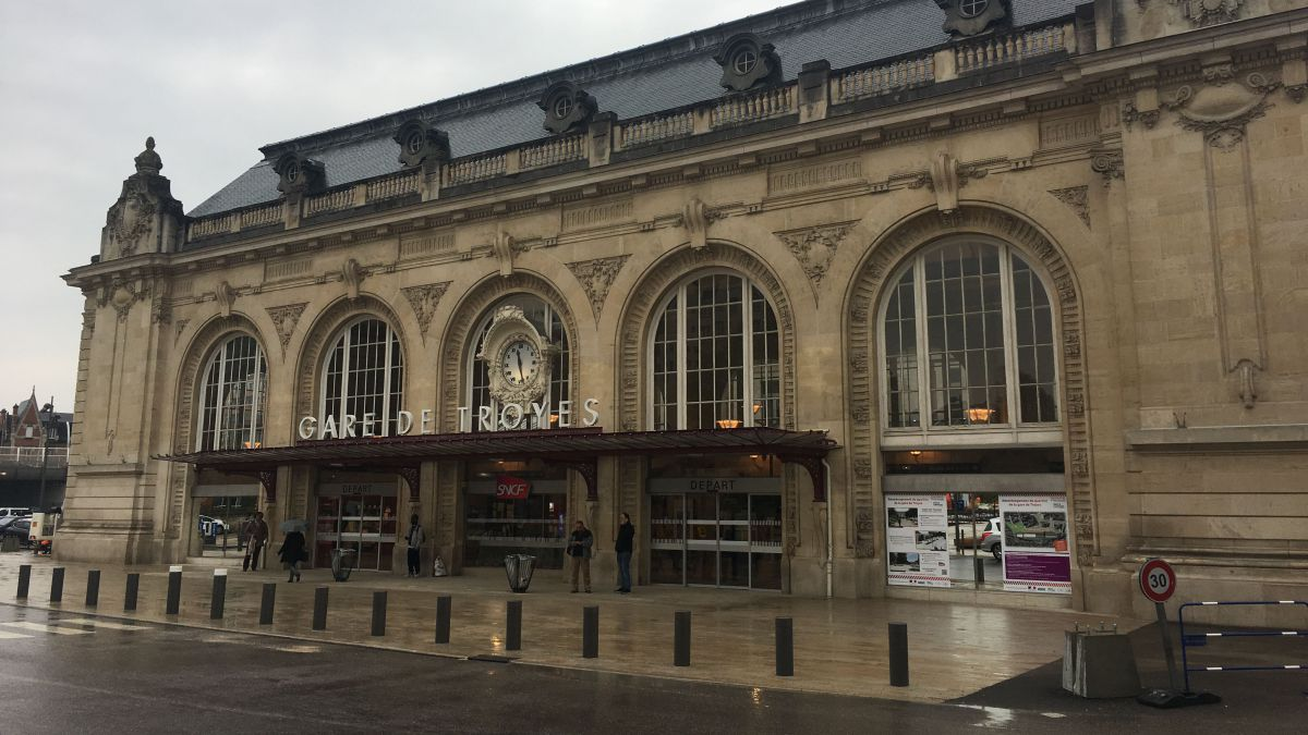 Gare de Troyes, le 9 avril 2018 / © Brice Bachon / France 3 Champagne-Ardenne