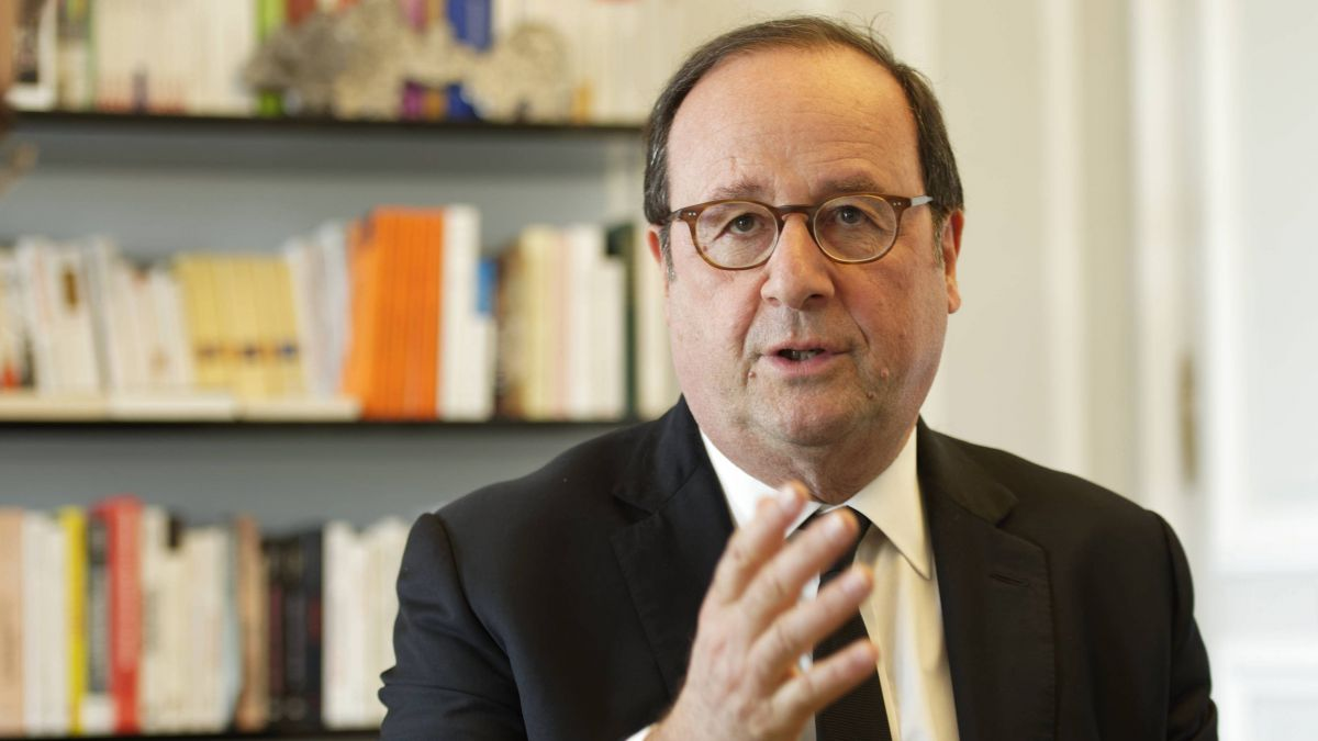 François Hollande, le 16 avril 2018 / © Daniel Fouray / MaxPPP