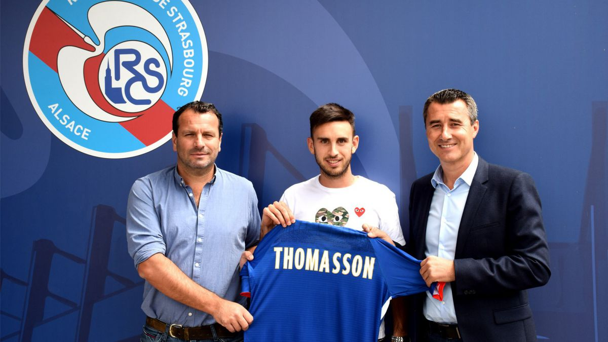 Strasbourg : Adrien Thomasson signe au Racing