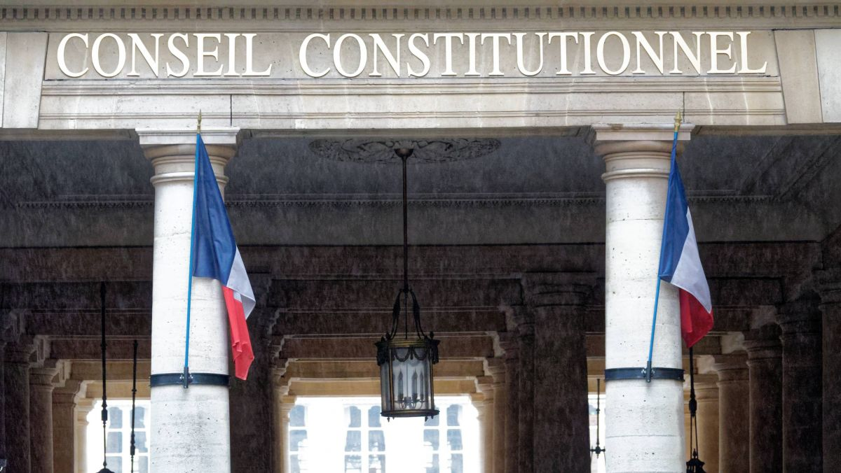 Le conseil constitutionnel. / © MaxPPP. Daniel FOURAY