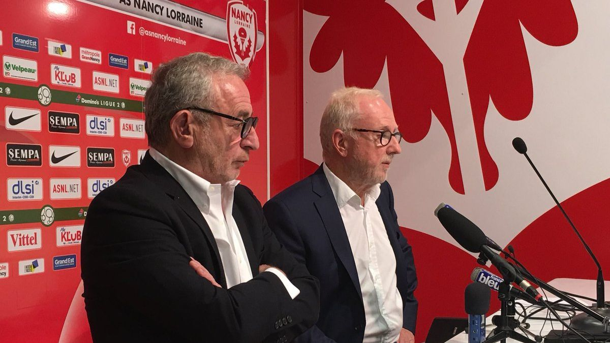 Nancy: l'ASNL échappe à la rétrogradation et reste en Ligue 2, Jacques Rousselot sauve le club