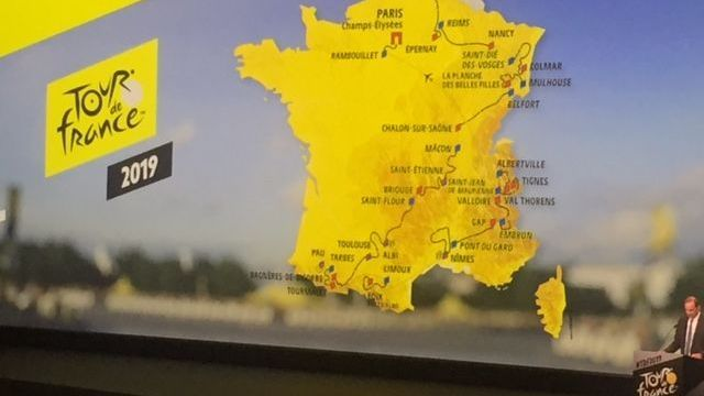 Tour De France 2019 Decouvrez La Carte Detaillee Du