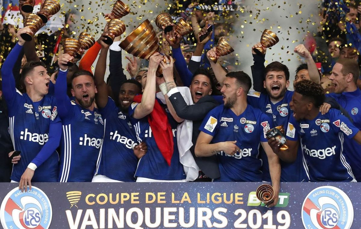 "VIDEOS - Victoire du Racing Club de Strasbourg en Coupe de la Ligue: ""on a joué à domicile!"""