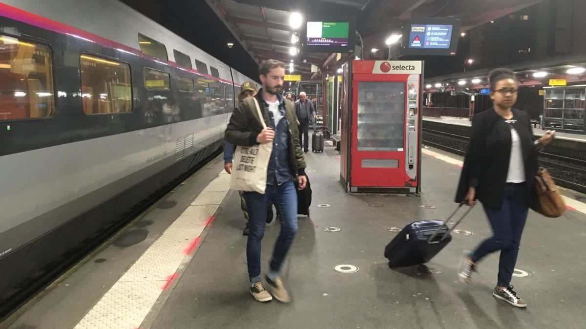 Nancy: le long voyage des passagers du TGV Paris-Nancy de 21h13