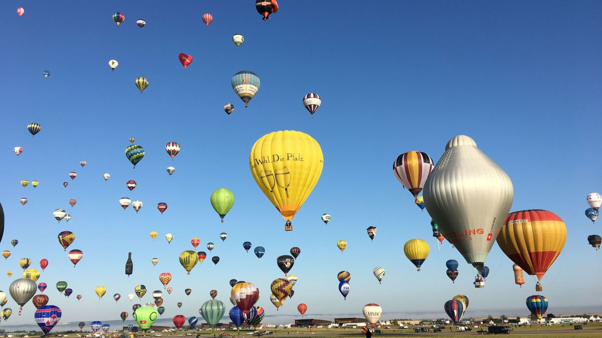 DIRECT VIDEO. Encore un bel envol à 6h45 ce mardi matin au Mondial Air Ballons 2019