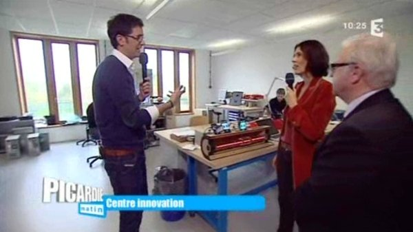 Au centre d'innovation de l'université technologique de Compiègne