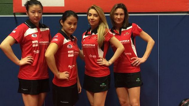 Lys lez lannoy les filles remportent la coupe d europe - Ligue du nord pas de calais de tennis de table ...