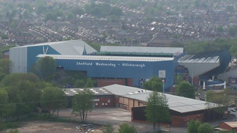Hillsborough, le stade de Sheffield Wednesday. / © Mick Knapton / Creative Commons