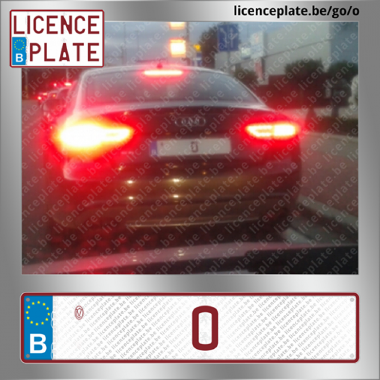 © Page Facebook Licence Plate Belgium