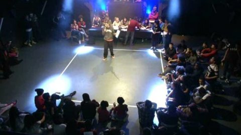 Battle de hip hop à Creil