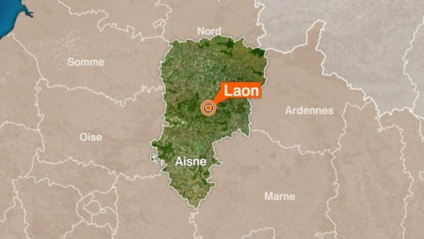 Laon : accident de la route 2 blessés graves
