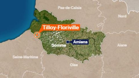 Tilloy-Floriville (80) : accident mortel