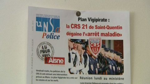 Saint-Quentin : les CRS tapent du poing sur la table