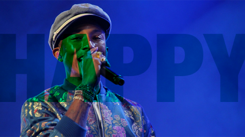 "Main Square : ""Happy"" de Pharrell Williams filmée par les festivaliers"