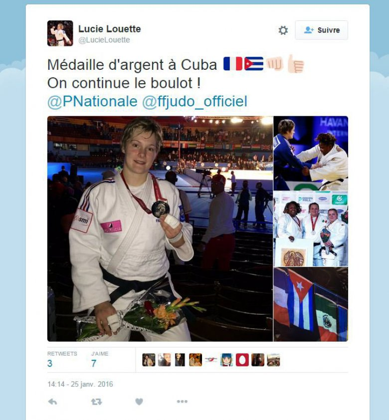 / © Compte twitter @LucieLouette