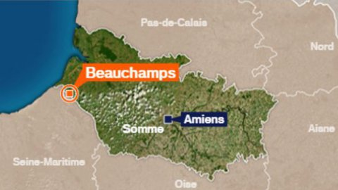 Beauchamps (80) : accident mortel en moto