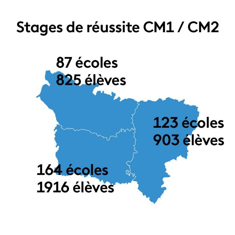 Stages de réussite CM1 / CM2 / © France 3 Hauts-de-France