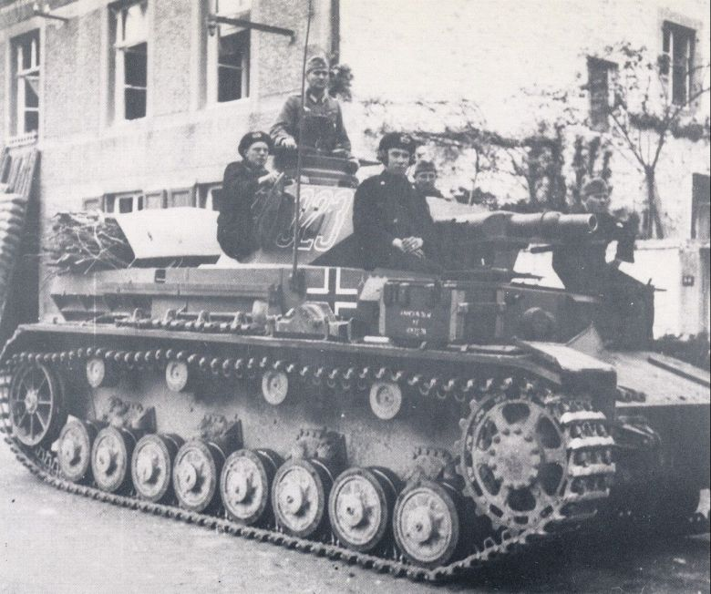 A Panzer photographed in 1942. / © Régis Potier private collection