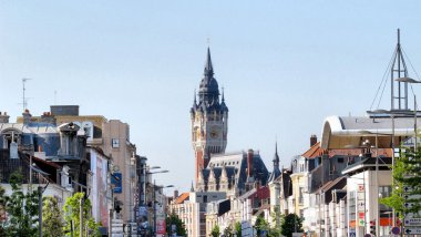 Les rues de Calais - photo d'illustration