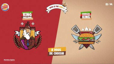 Capture d'écran du site de Burger King.