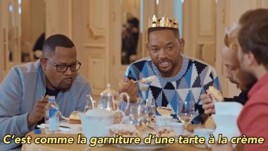 Will Smith a dégusté la galette dunkerquoise avec Mc Fly et Carlito / © Mcfly & Carlito / YOUTUBE