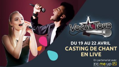 Saint-Quentin accueille le Vocal Tour du 19 au 22 avril