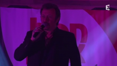 EN DIRECT. Suivez le concert de Richy, sosie de Johnny Hallyday